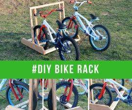 The 2x6 Bike Rack