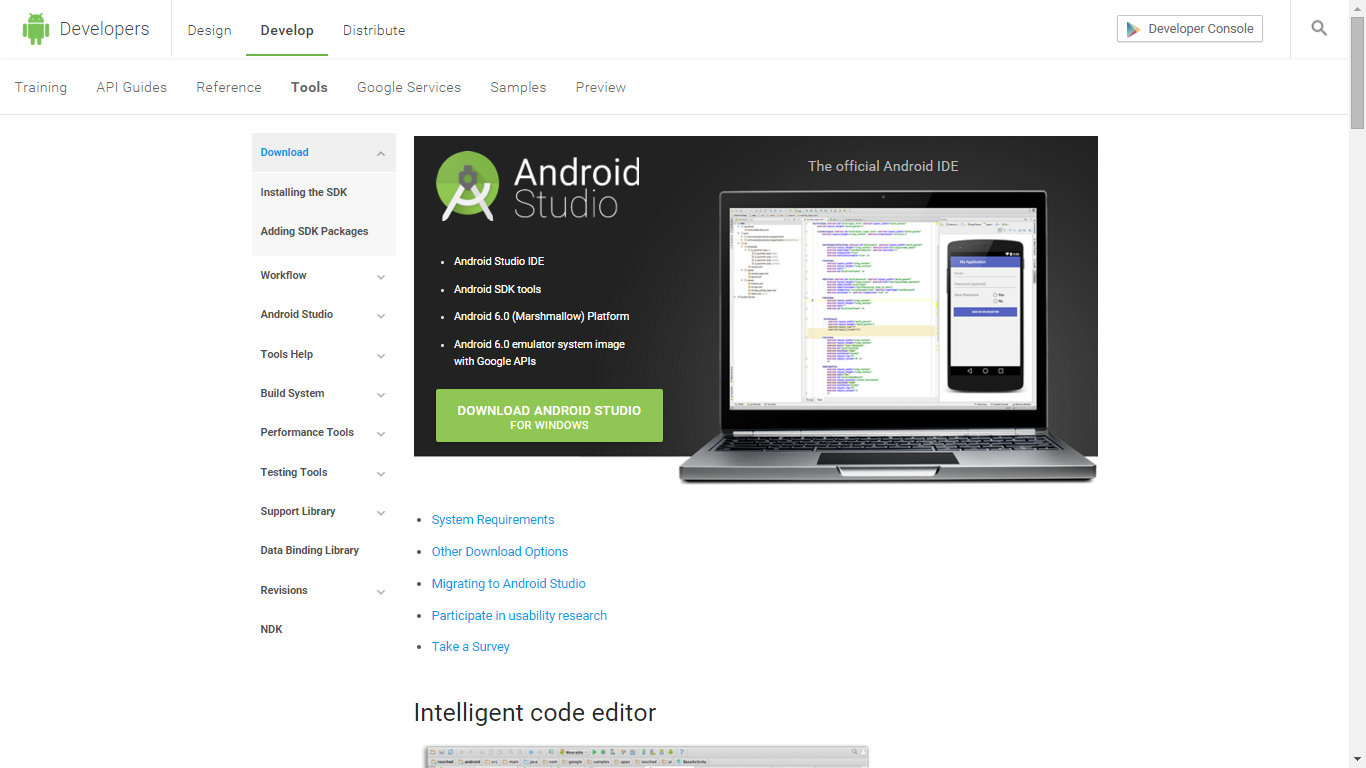 Picture of Have Android Studio Installed