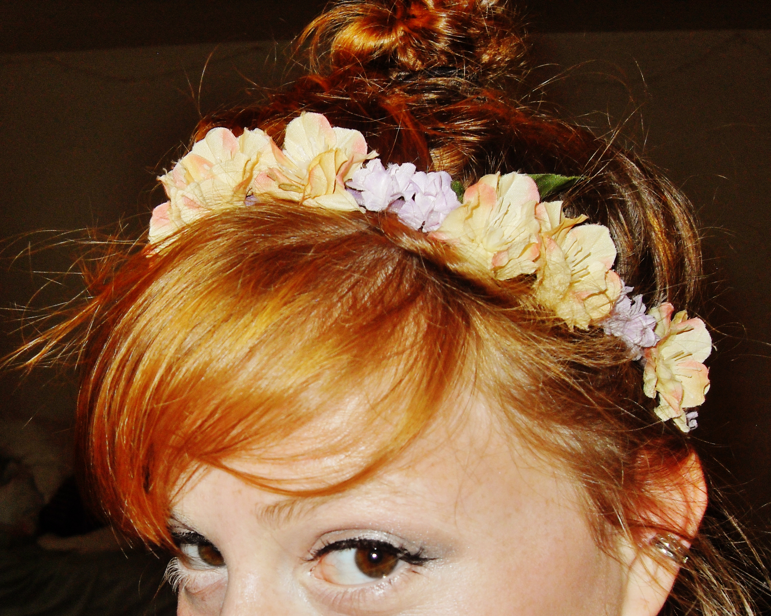 Picture of Silk Floral Headband