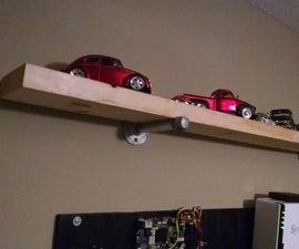 The 5 Minute Industrial Look Shelf