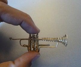 Miniature Wire Trumpet
