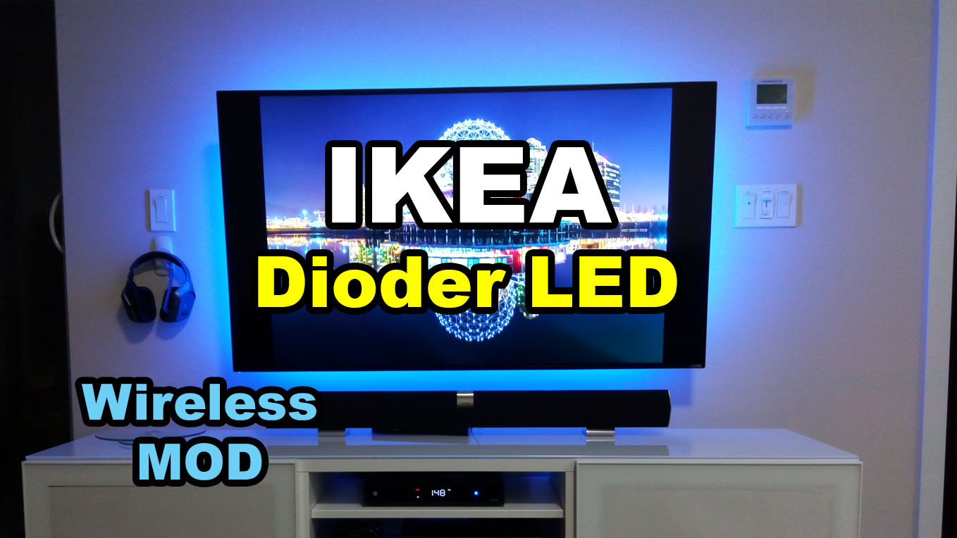 Picture of IKEA Dioder LED Strip Wireless Mod