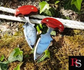 Knife Making - Making Push Daggers