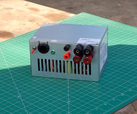 DIY Bench Power Supply With Old Computer SMPS
