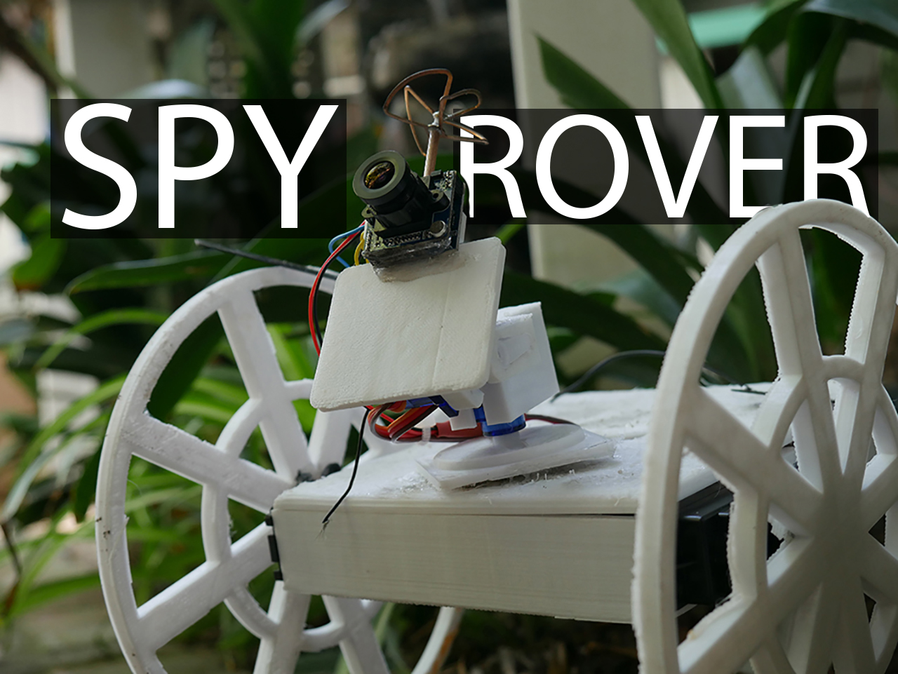 Picture of How to Make a Remote Controlled Spy Rover
