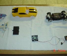 remote control car fan