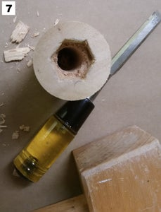 Making the Vise Handle