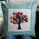Button tree cushion