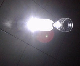 Recycle Bottle Lamp