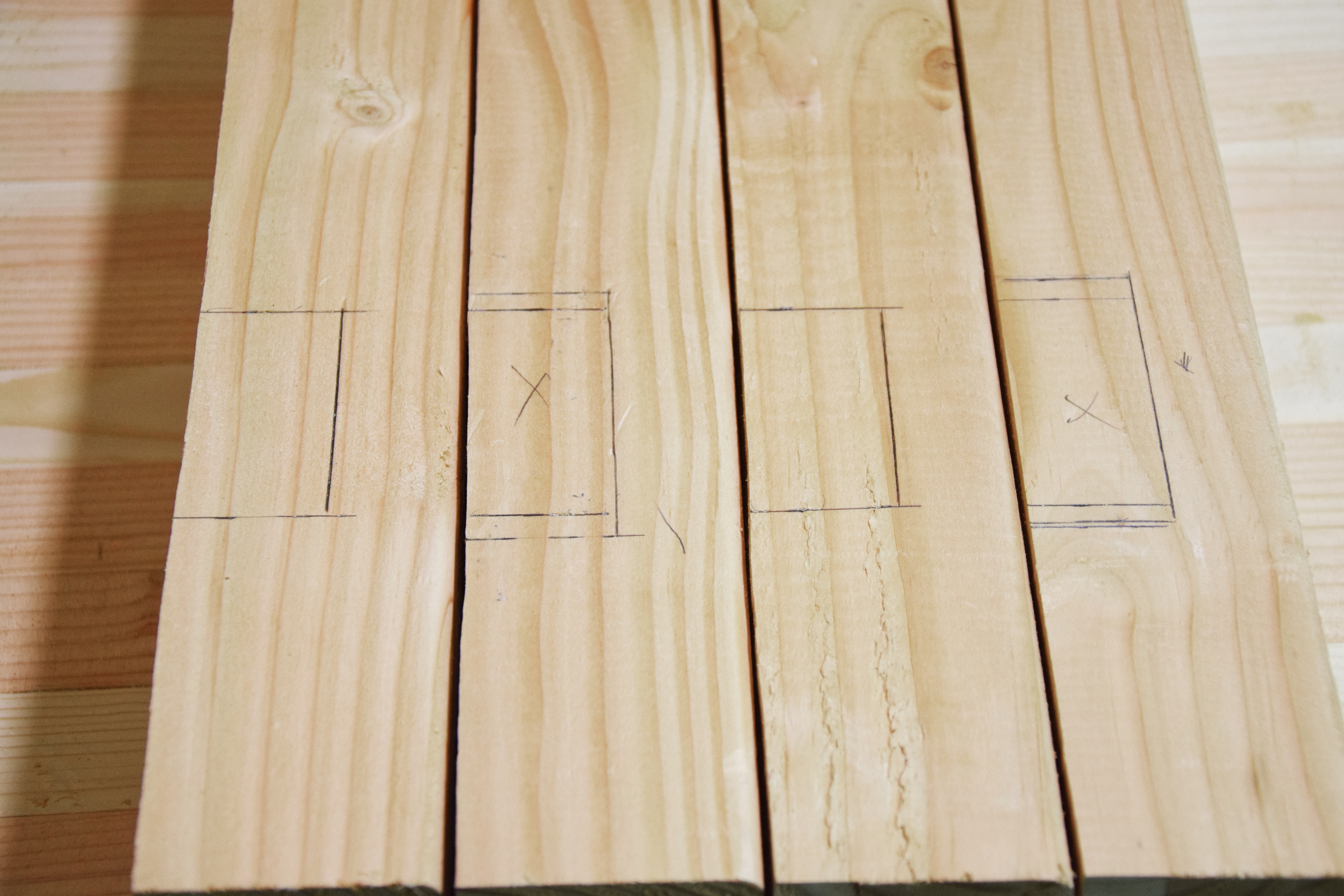 Picture of Mark and Cut Mortise