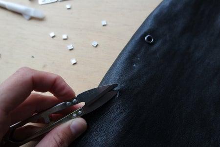 Cut Holes Into Skirt