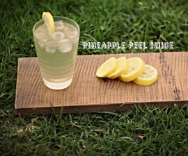 Pineapple Peel Juice