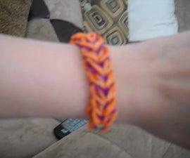 Rainbow Loom Heart Bracelet