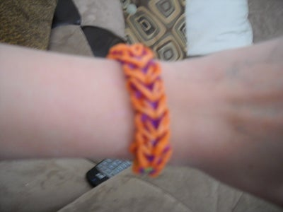 Rainbow Loom Heart Bracelet