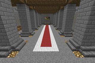 minecraft castle interior design
