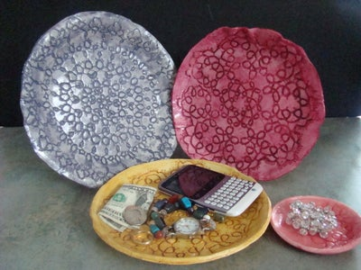 Lace Doily Dishes