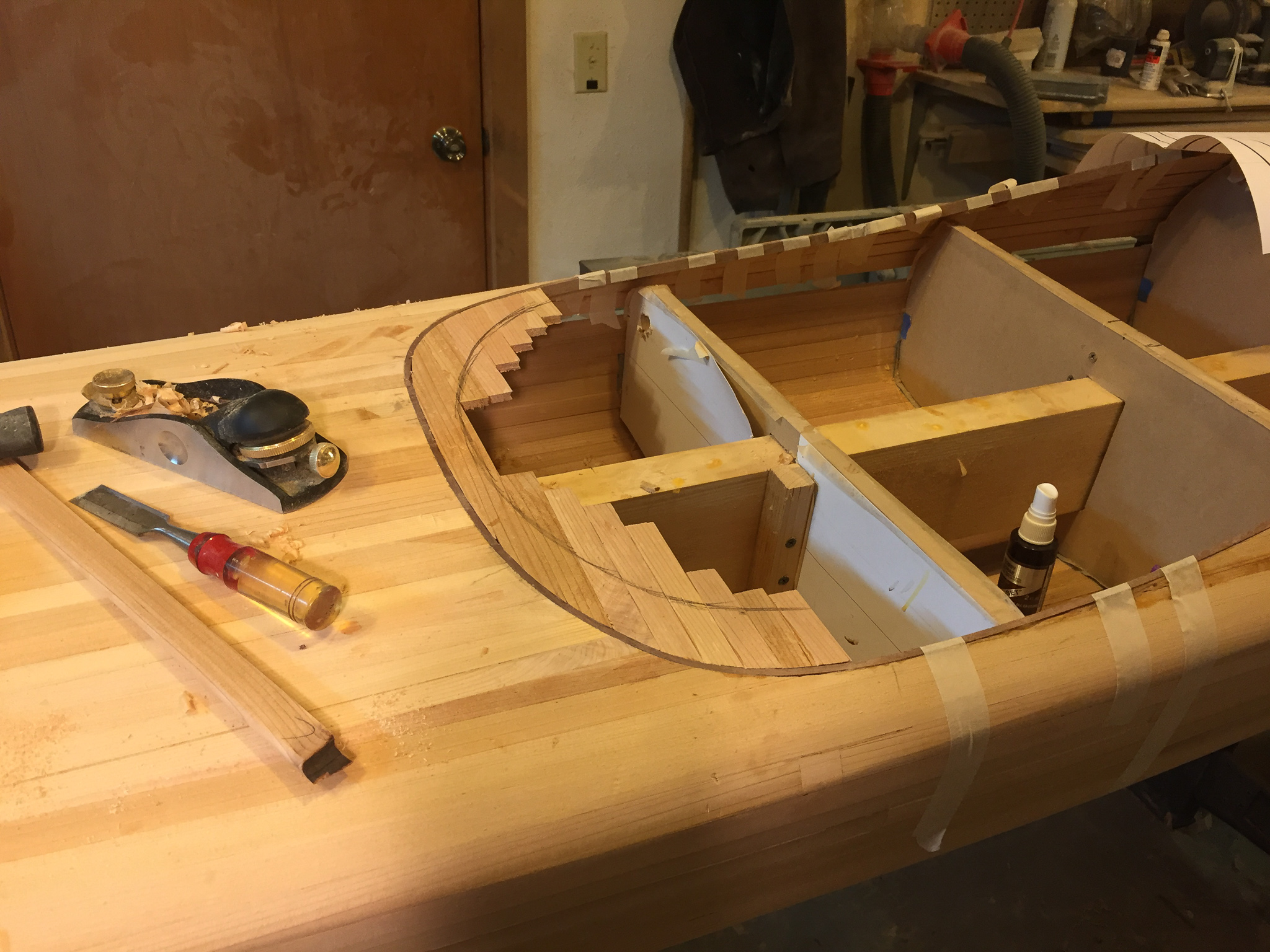 Picture of Build the Cockpit Recess