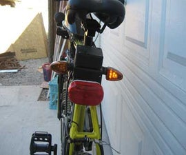 Tail Light and Blinker Setup for Motor Bicycles