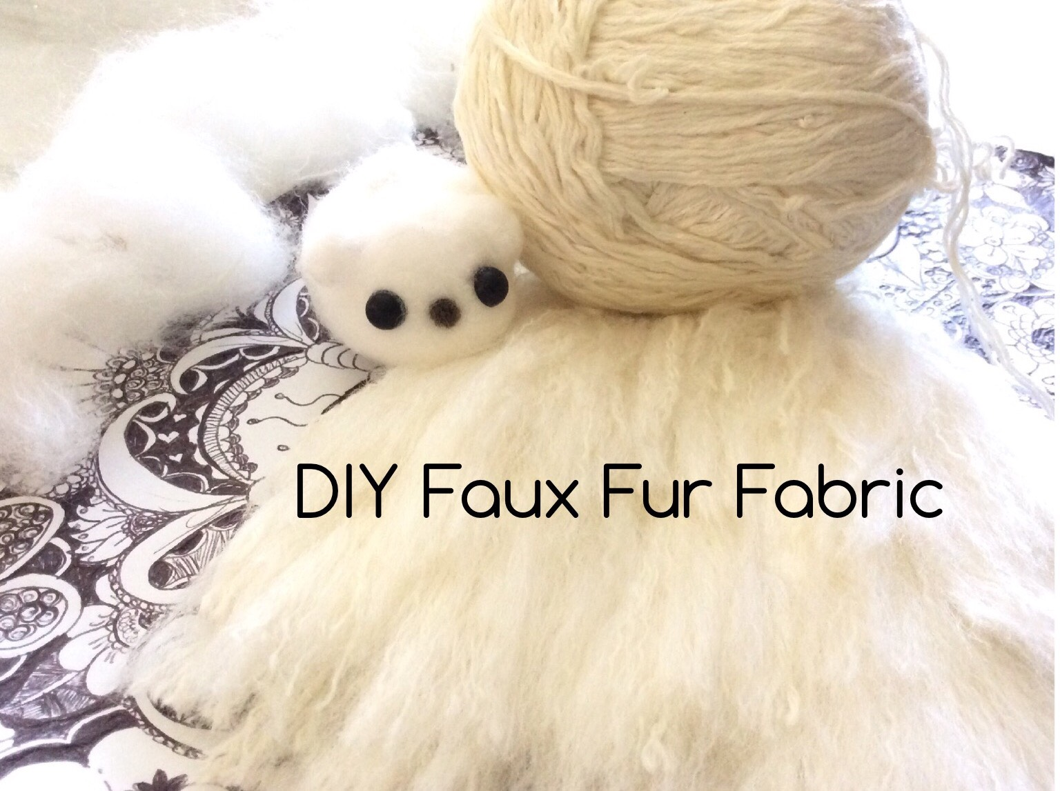 Picture of Faux Fur Using Yarn