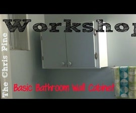 How to build a basic Bathroom Wall Cabinet