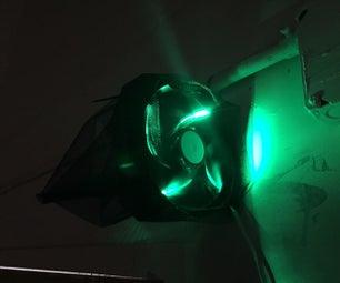 A Cheap & No Maintenance LED Fan Mosquito Trap