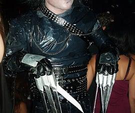 Edward Scissorhands Costume  ...On the cheap.