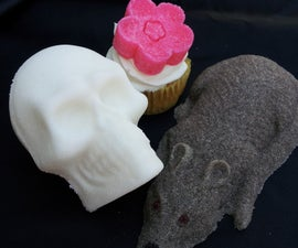 Sugar Molds - For Cupcakes and Decorations