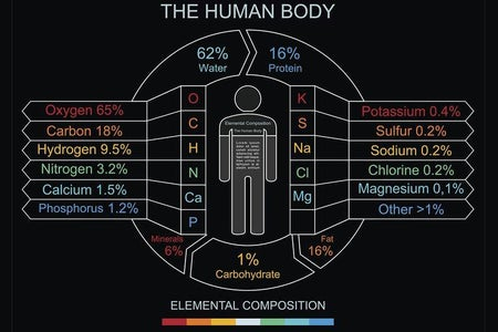 """Human Body : """" a Complex Chemical Battery"""""""