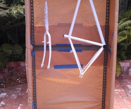 Collapsible Spray Booth