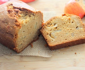 Caramel Apple Cookie Bread