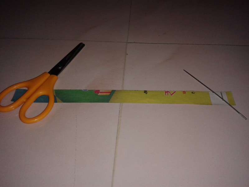 Picture of Prepare the Paper for Beads