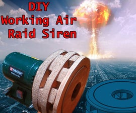 DIY Air Raid Siren