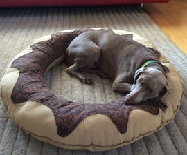 Donut Dog Bed + a Donut Party!