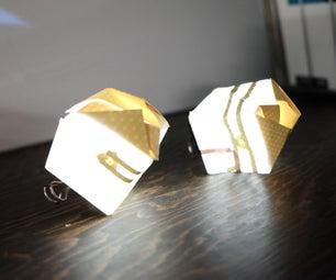 Light Up Paper Cube