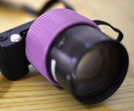 3D-Printed Focusing E-Mount Adapter For Ultra-Fast Lenses
