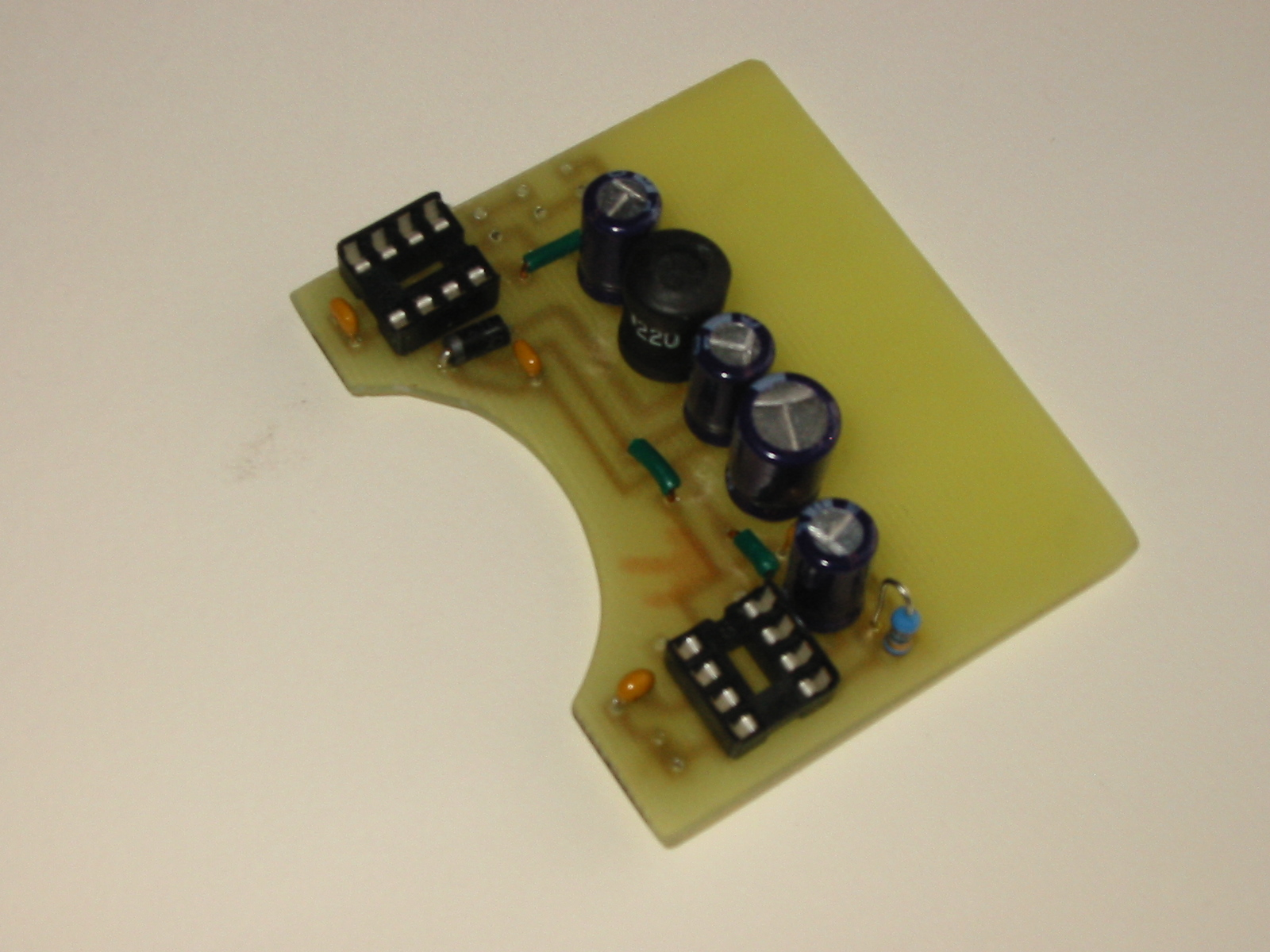 Picture of Soldering Parts to PCB