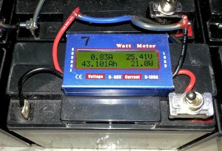 Metering Per Battery Set.