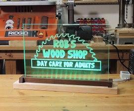 Make an LED Acrylic Sign