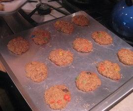 Daoud how to bake monster cookies