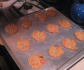 Daoud how to bake monster cookies