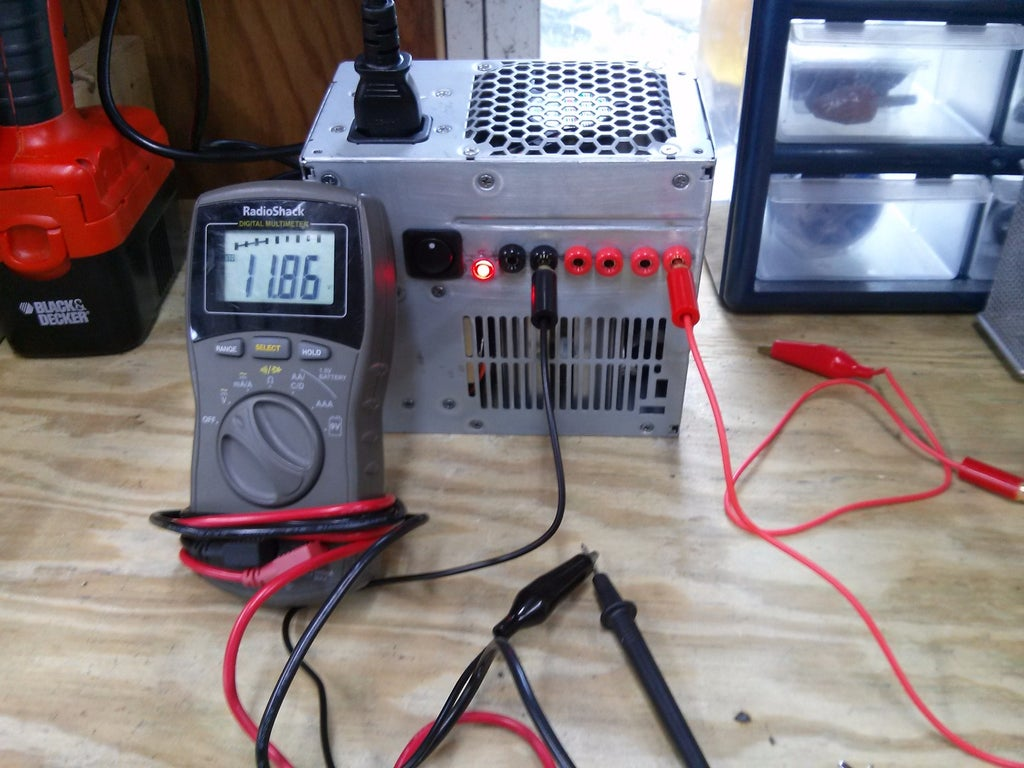 Benchtop DC Power Supply : 4 Steps (with Pictures)