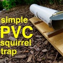PVC Humane Capture Release Squirrel Trap