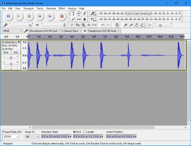 Sorting the Sound Files
