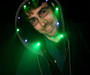 Hoodie Lamp (LEDs and Wearable Electronics)