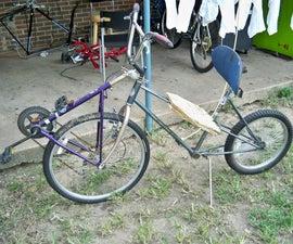 Chuck's No Weld Recumbent Bike