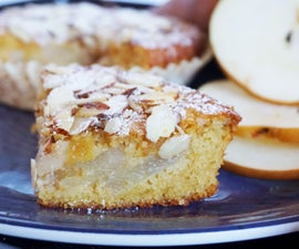 Wholesome Pear Almond Cake(gf)