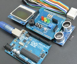 Arduino UNO Learning Shield by Ardumotive