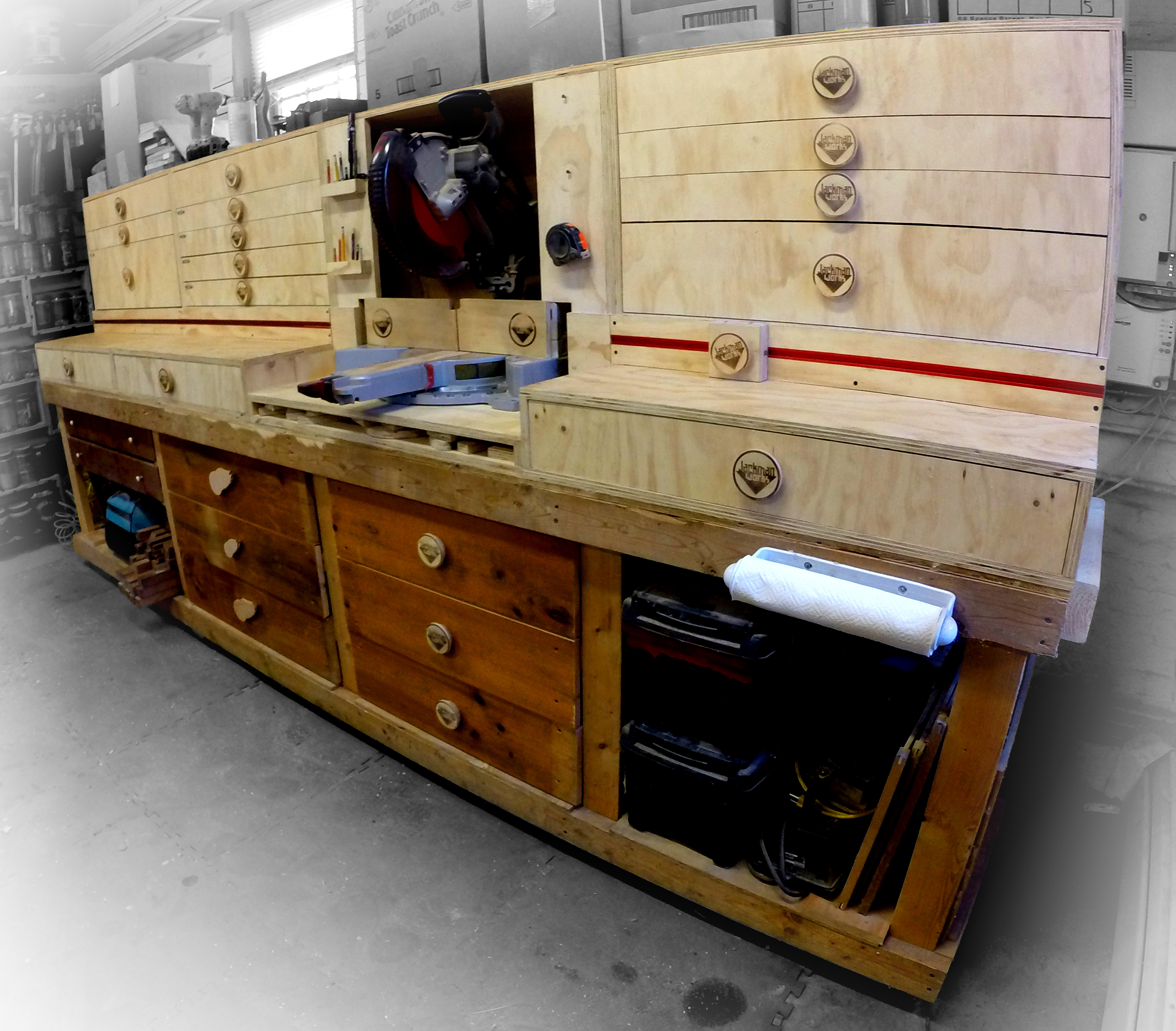 Picture of Modular Miter Saw Station - Ultimate Shop Storage