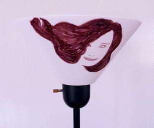 Make a Portrait  Lampshade