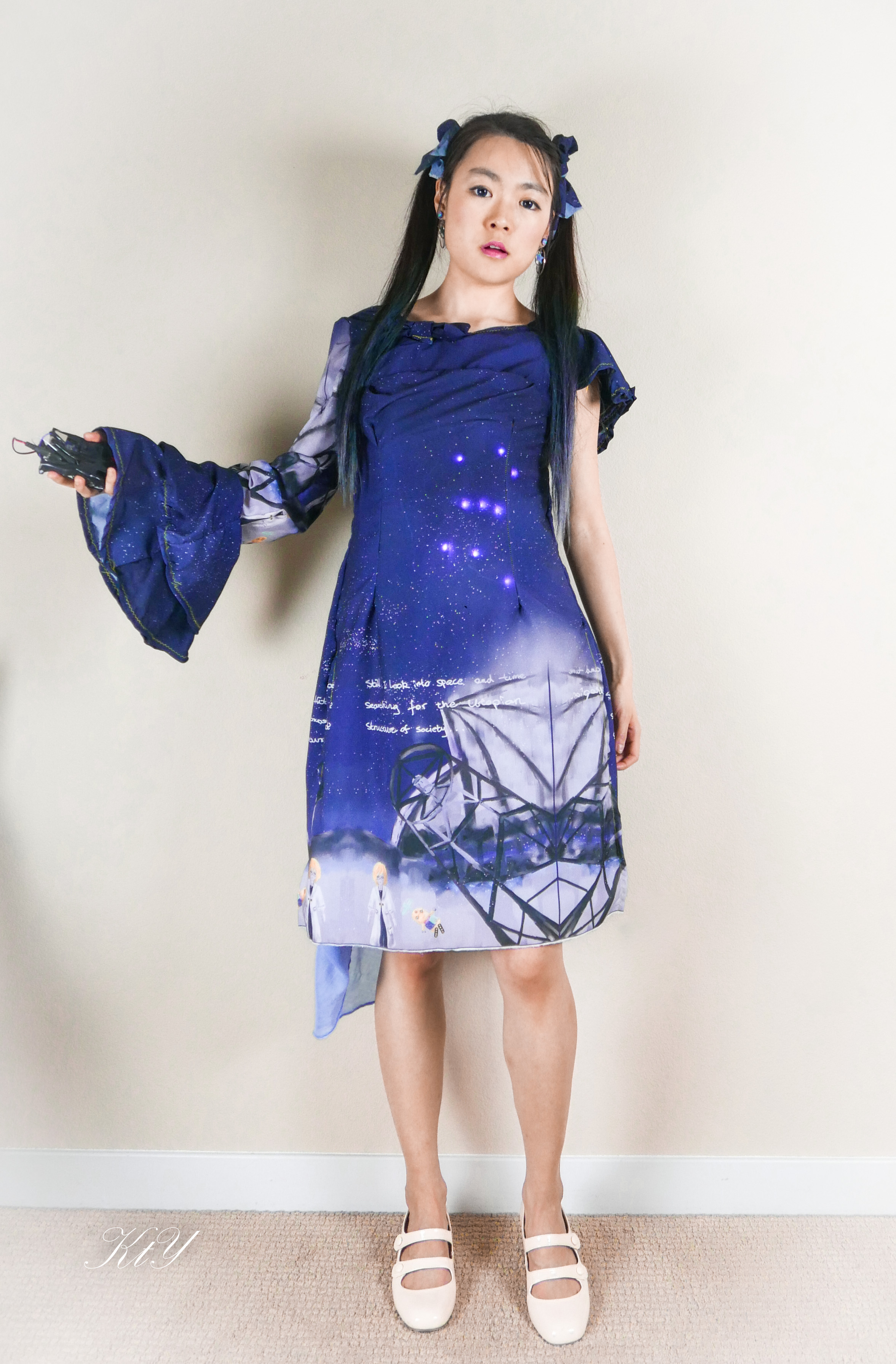 Picture of Arduino101-Intel Curie Pattern Matching Dress